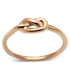 Cute ❤️ Rosegold love knot Ring
